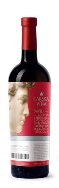 David Carska Vina - cabernet sauvignon blatina